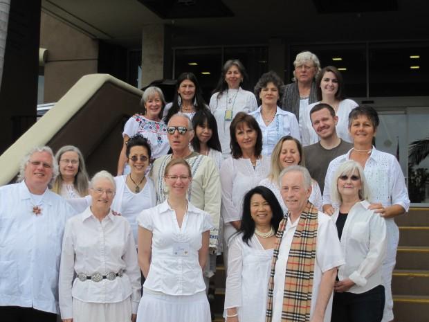 San Diego Light News Spiritual Healer's Training Graduates - Group 5