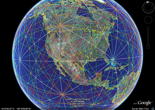 Google Earth Leylines