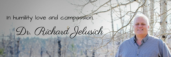 In humility, love and compassion,Dr. Richard Jelusich