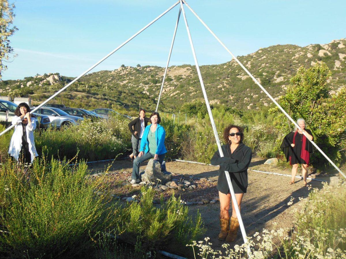 Energy Vortex Pyramid, Subtle Energy Retreat, San Diego, California
