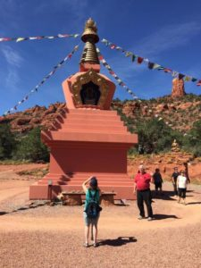 Buddhist Stupa & Chimney Rock