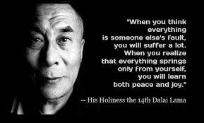Dalai Lama Personal Responsibility